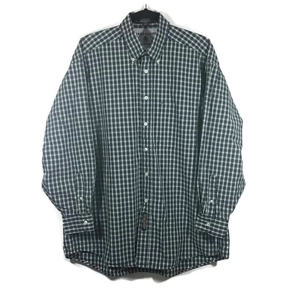 Other - Tommy Hilfiger  Checkered Button Down Shirt
